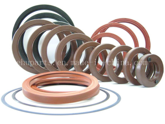 Tc 45X55X8 NBR FKM Viton Rubber Hydraulic Shaft Oil Seal pictures & photos