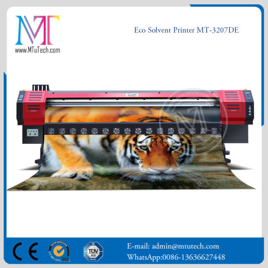 Double Dx7 Printheads Large Format Flex Banner Printing Machine