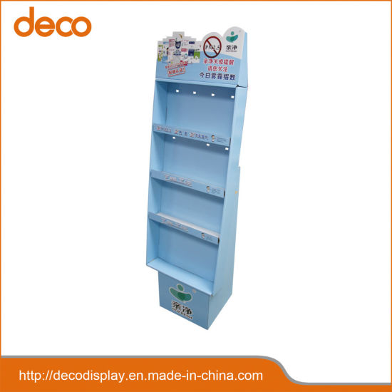 Corrugated Display Paper Cardboard Display Stand for Retail pictures & photos