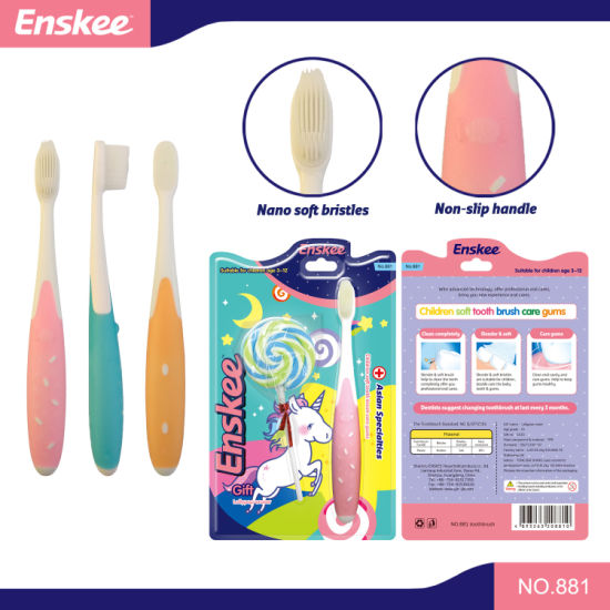 Kid/Child/Children Toothbrush with Nano Bristles, Gift Included The Pack 881 pictures & photos