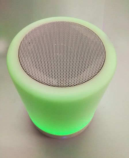 OEM Changing Mini Bluetooth Speaker (speakers) Radio with V5.0 Smart Touch LED Night Light Color