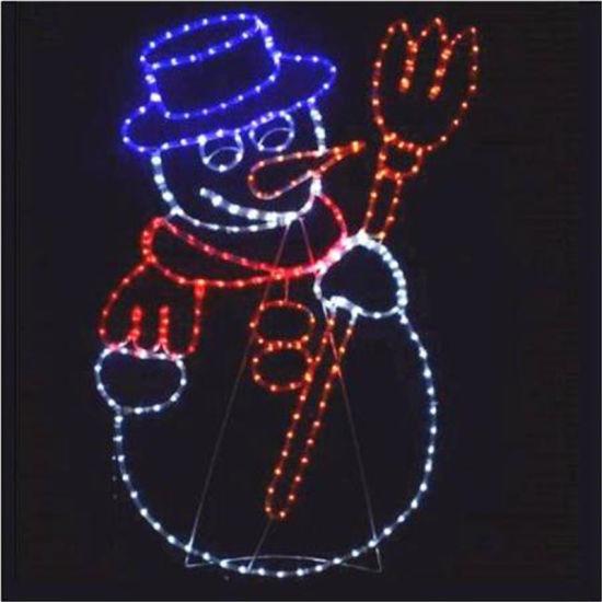 China 2018 christmas outdoor street decoration 2d snowman motif 2018 christmas outdoor street decoration 2d snowman motif lights led rope light aloadofball Choice Image