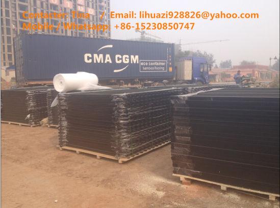 2000mm*2400mm PVC Ornamental Tubular Rail Garrison Fencing for Australia Market