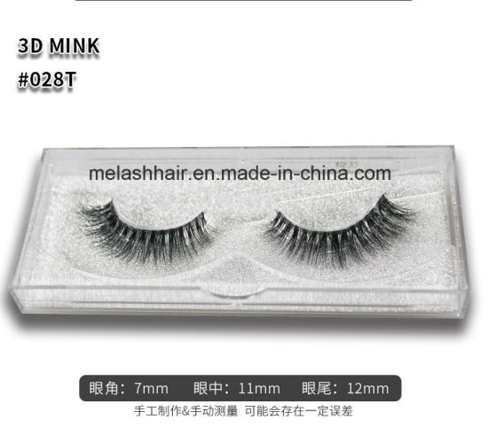 c22fe47f91a Me&Lash New Design Transparent Stem 3D Mink Strips Eyelash False Eyelashes  Custom Packaging Private Label Wholesale Price 028t