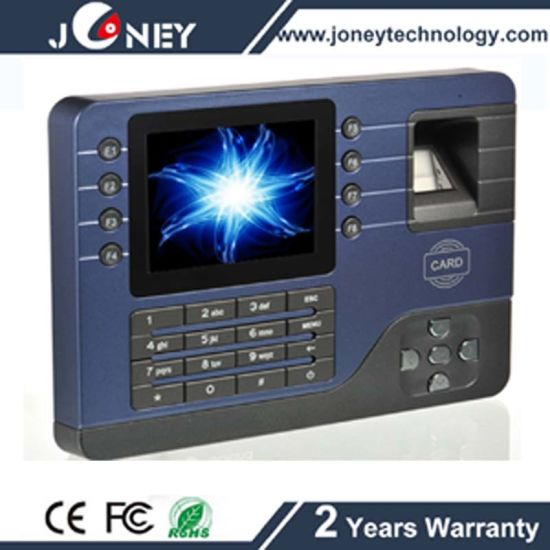 Fingerprint Time Attendance with Access Control Function