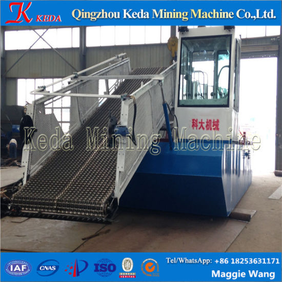 New Design & Full Automatic River Weed Harvester/Water Hyacinth Harvester pictures & photos
