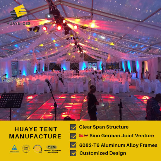 Huaye Clear Pvc Wedding Tent For 300 People Hy122b