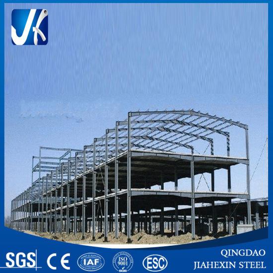 light prefabricated steel structural steel frame welding workshop design
