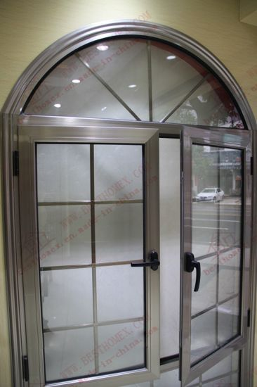 PVDF Coating Aluminum Arch Window (BHA-CWA17) pictures & photos