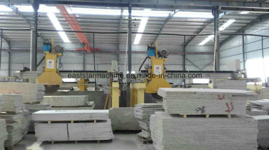 Infrared Bridge Cutting Stone Machine Pillared PLC-700 pictures & photos