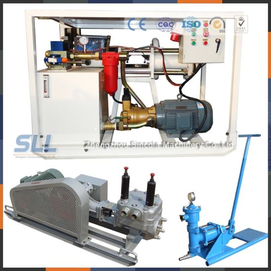 High Pressure Piston Cement Grout Pump pictures & photos