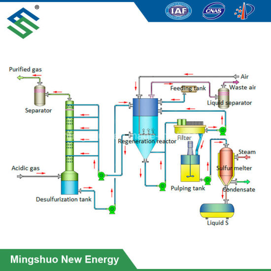 Iron-Based H2s Removal Project for Biogas Plant