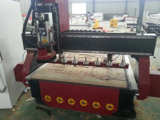 China 1325 Linear Carrousel Type Atc Cnc Router Woodworking Cnc