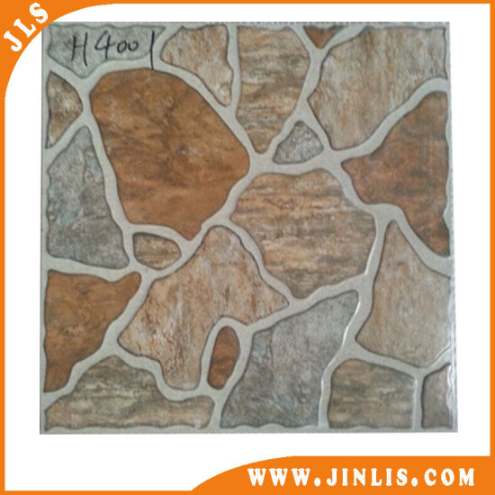 Building Material 40x40 Rough Surface Rustic Vitrified Ceramic Flooring Tiles pictures & photos