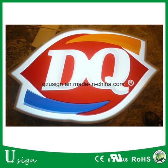 LED Logo Sign Acrylic LED Light Box Sign