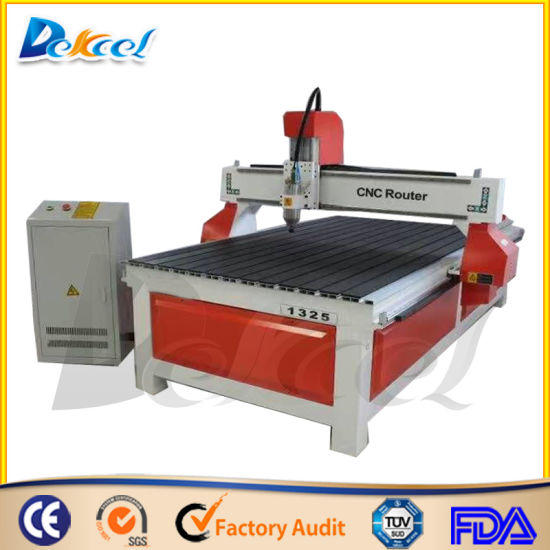 Cheap MDF Woodworking CNC Router Engraving Machine 1325 pictures & photos