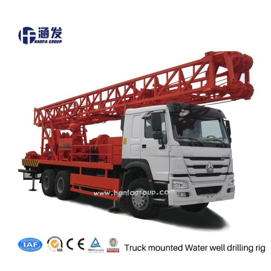 Latest Product Hfc-400 Truck-Mounted Water Well Drilling Rig