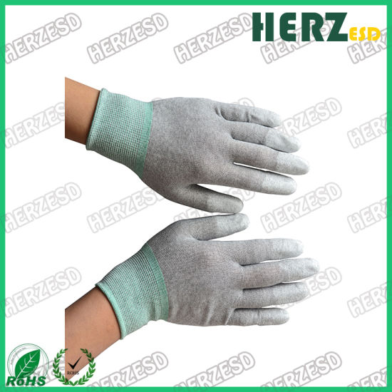 Antistatic Cleanroom Top Fit ESD Safe Glove pictures & photos