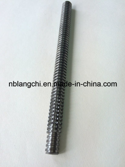 Thin Thread Tooth Trapezoidal Thread Rod Roller Lead Screw Tr12X3 pictures & photos
