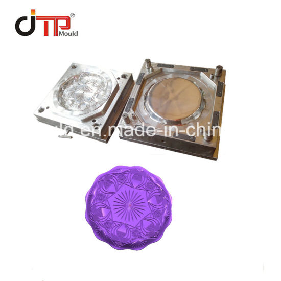 High Quality Round Plate Fruit Storage Plastic Injection Plate Mould