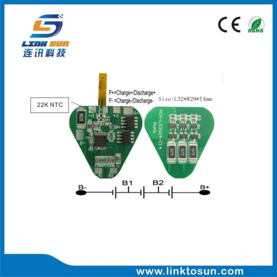 3s 4A Li-ion/Li-Poly Battery PCM BMS with Balancing pictures & photos