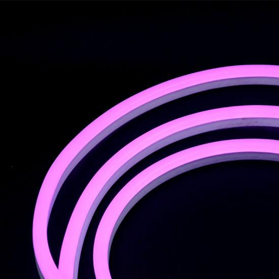 Purple Red Color 60LEDs SMD5050 220V IP65 LED Rope Light