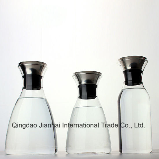 High-End Lead-Free Cold Water Glass Bottle