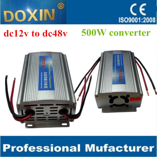 500W DC DC 12V 48V Step up Buck Power Converter pictures & photos