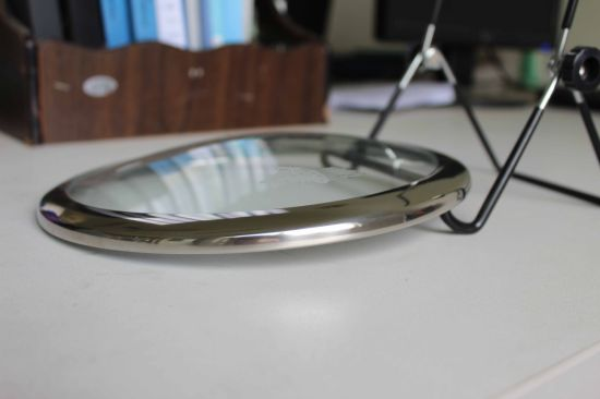 Wide Rim C-Type Round Tempered Glass Lid pictures & photos