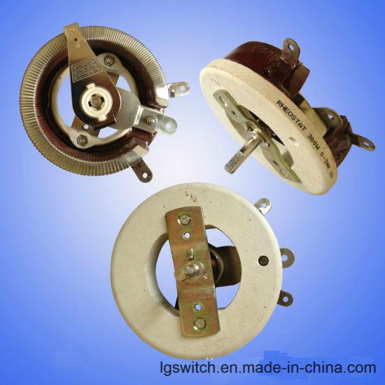 Single Turn Resistor 100W 30ohm Rotary Taper Pot Ceramic Disk Rheostat