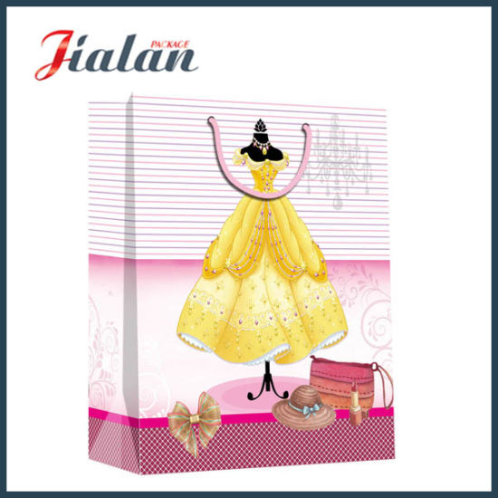 Fashion Dresses for Lady Garments Packadging Waterproof Paper Shopping Bag pictures & photos