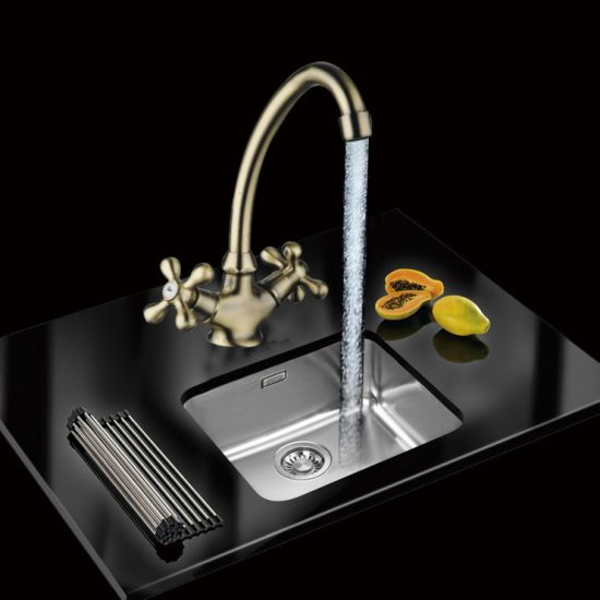 [Hot Item] Hot Selling Building Sanitary Ware Brushed Nickel Kitchen Faucet