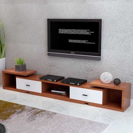 China New Model Living Room Furniture Wooden Tv Cabinet China Tv