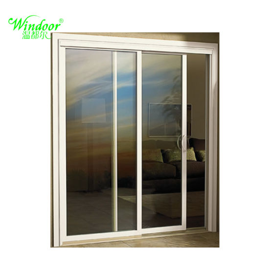 USA Style High Quality White Color PVC Sliding Doors  sc 1 st  Qingdao Windoor Window u0026 Door Co. Ltd. & China USA Style High Quality White Color PVC Sliding Doors - China ...