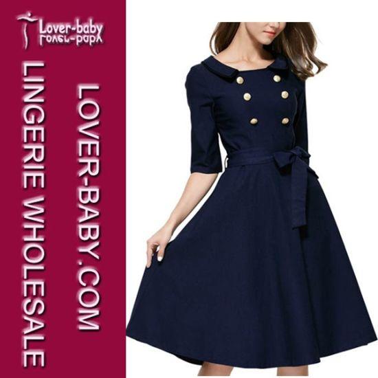 Woman Office Party Fashion Dress (L36102)
