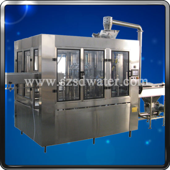 4000bph Automatic Pet Bottle Water Bottling Filling Packing Machine pictures & photos