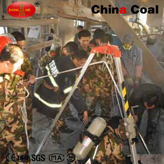 Coal Mine Rescue Lifting Hand Operated Tripod pictures & photos