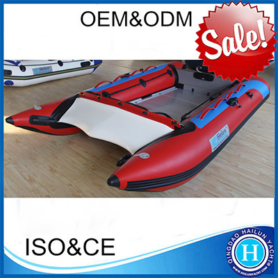 High Standard Inflatable Fishing Belly Boat for Fun Inflatable High Speed Boat for Sale