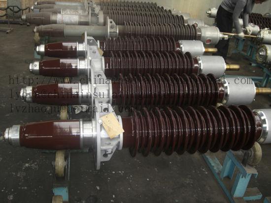 126kv Transformer Bushing Porcelain Insulator Type Short-Tail