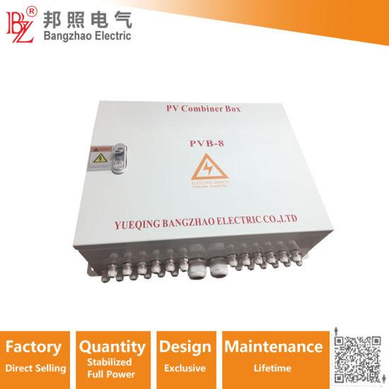 IP65 Convergence Solar 1000V/1500V DC Combiner Box 8 Lines Input 2 Outputs