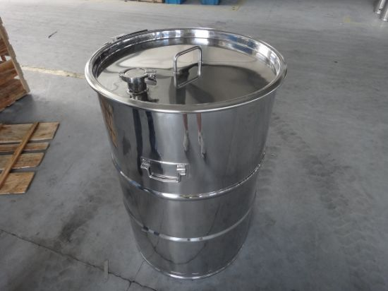 55 Gallon Open-Top & Closed-Top Stainless Steel Drum pictures & photos