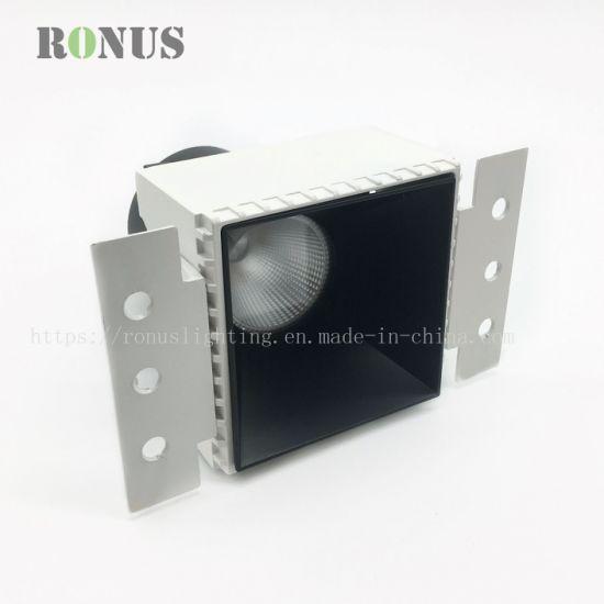 LED COB Spotlight Anti-Glare Rimless 5W Spot Light Lamp Ceiling Indoor Lighting Downlight