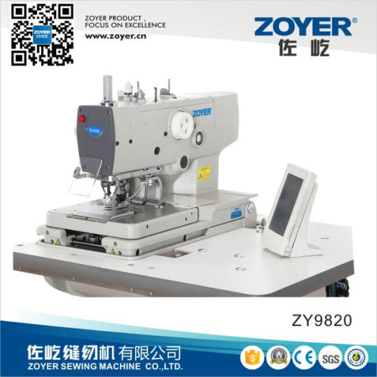 China Zoyer Brother Computer Eyelet Button Holing Industrial Sewing Best Brother Button Sewing Machine
