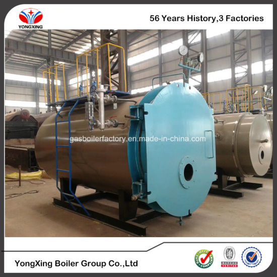 China Long Life Oil Fired 5 Ton / H Steam Boiler for Rice Mill Plant ...