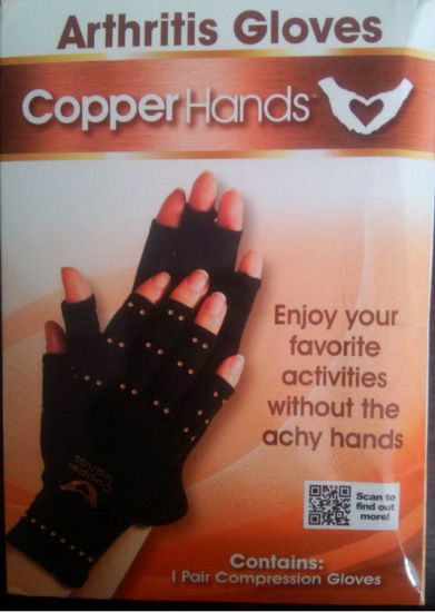 Compression Therapy Copper Hands Arthritis Gloves
