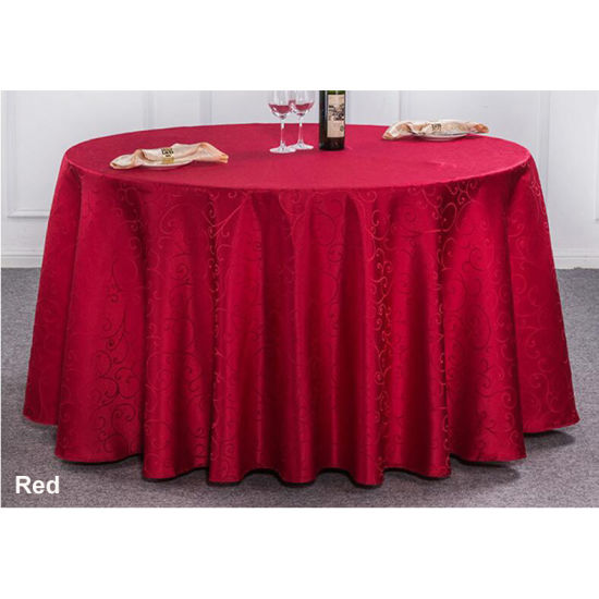 Outdoor Tablecloth Wedding Folding Table Cloth Sash Covers Table Cover pictures & photos