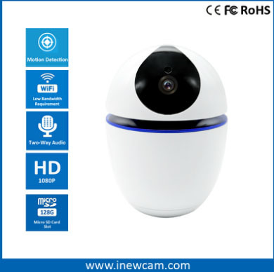 Battery Powered 1080P HD WiFi Camera with Two Way Audio