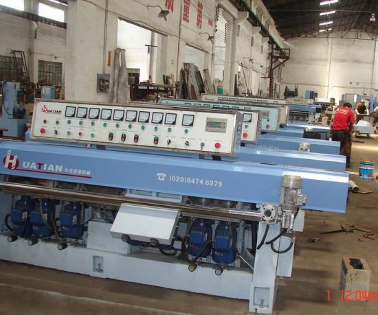 8 Motors Glass Straight-Line Grinding Machine