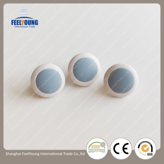 Fashion Buttons Clothing Accessories Eco-Friendly Nickel-Free Metal Blue Button