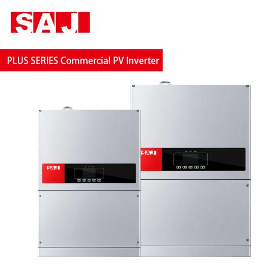 Saj Solar Inverter Suntrio Plus Series Grid Tie Inverter 12kw 15kw 20kw  33kw 50kw 60kw Power Inverter Generator with Best Price
